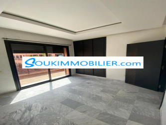appartement 2 chambres vide moderne