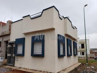 maison de 80 m2 deux faces lotissement mehdia