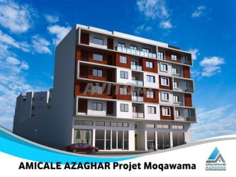 appartement 81 m2 sur rue moqawama - agadir
