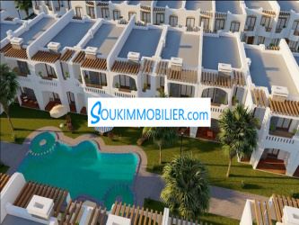 duplex de luxe avec piscineréf sw9yz