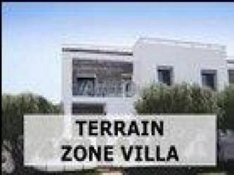 terrain 200 m zone villa a bouznika