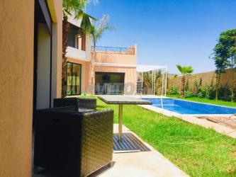 maison bien situer avec piscine - route d\'ourika