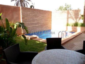 appartement meublé avec piscine privée