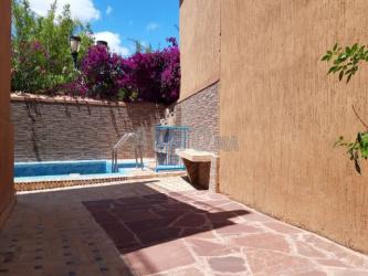 maison atypique avec piscine - centre de marrakech