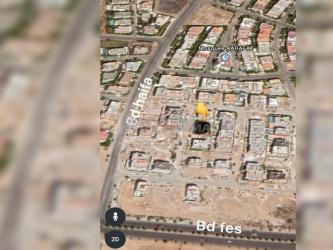 terrain 240 m2 pour villa a boulevard fes