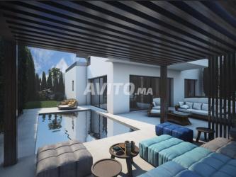 villas jumelées les trois golfs de 504 m2