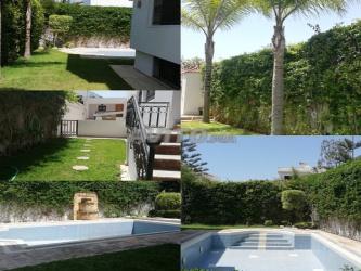 villa meuble avec piscine a hay riad