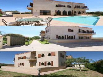 Villa meublé 6 suites 3 salon piscine jardin Targa