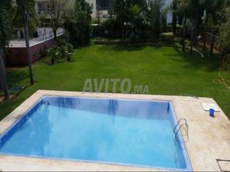 Villa de 3000 m à loué sur Bir Kacem Rabat