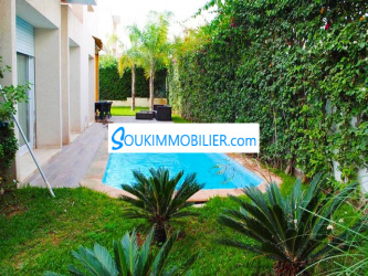 Luxueuse Villa 507m2 à Bouskoura
