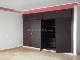 appartement de 95 m2 wifak temara avec garage