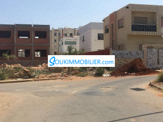 Terrain de 200 m2 Sidi Maarouf