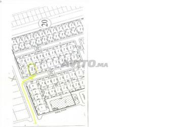 Terrain de 195 m2 Sidi Yahya