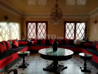 etage de villa meublée à loué