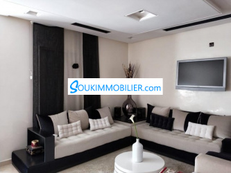 appartement de 100 m2 riad oulad mtaa