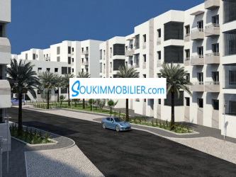 appartement 80 m² chez dyar al waha