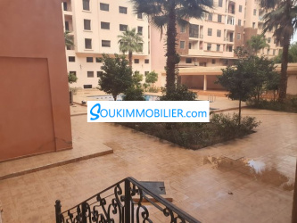 appartement 88m av piscine a géuliz
