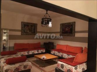 location très bel appt meublé/terrasse à malabata