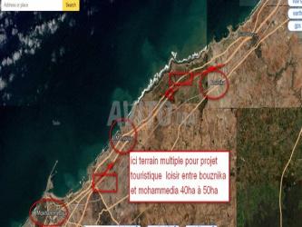 terrain pour projet sur auto route et nationale