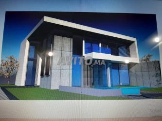 villa de 340 m2 / 3200 m2 à bouskoura-victoria