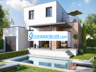 villa moderne neuve de 1200 m2 à californie