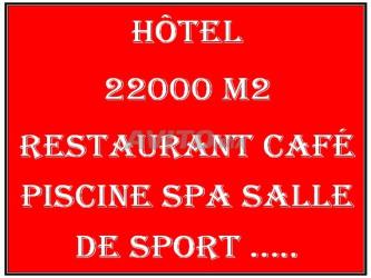 terrain hotel 22000 m2 plan autorisé sidi bouzid