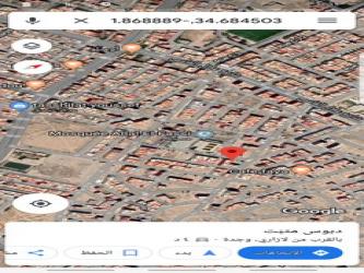 قطعة أرضية تجارية 139 متر مسجد حي الفراح