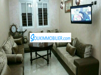 vendre un joli appartement meublé