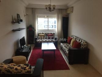 appartement meublé au sablette