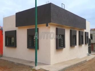 maison 2 façades 100 m2 mehdia kenitra