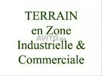 terrain industriel 1500 m2