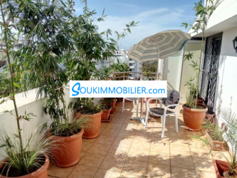 appartement meublé avec terrasse 92 m2 agdal