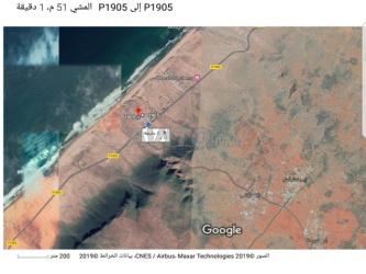 ارض للبيع مساحته 1800 متر مربع باكلو محادية للشاطئ