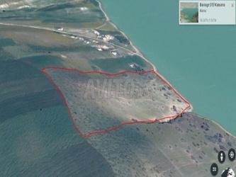 terrain titré de 15 000 m2 sur lac el kansera