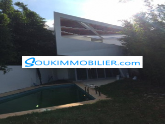 villa 300m en location à prestigia bouskoura