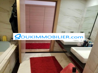 appartement meublé de 120 m à loué sur hay riad