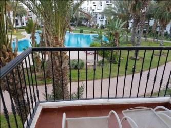 appartement a agadir vue sur piscine à agadir