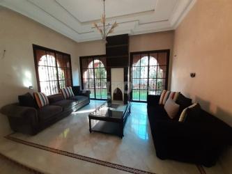 villa de luxe dans une résidence chic