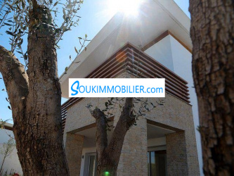 villa cgi en vente à bouskoura à la ville verte