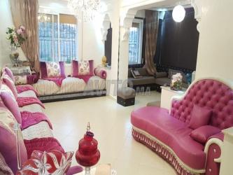 appartement meublé 93 m2 sur route tetouan