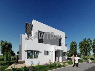 villas en vente à bouskoura