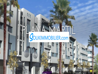 appartement playa martil
