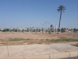 terrain 600 mitre a la porte marrakech proche