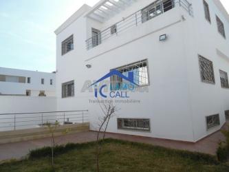 villa vide de 460 m2 à louer à hay riad