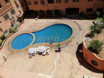 joli appartement avec piscine à centre ville