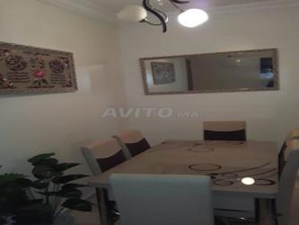 appartement meublé à louer sur bouznika