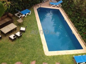 villa 4 chambres meublé avec piscine à targa