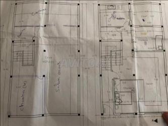 duplex en construction à mehdia
