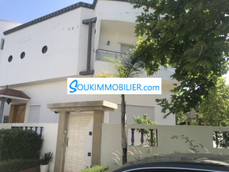 villa À louer harhoura