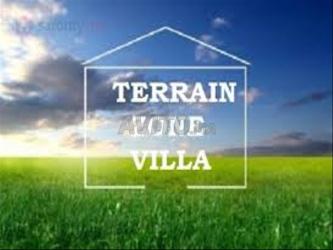 terrain villa 220m2 bouskoura